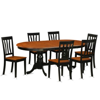 Shop Blackcherry Rubberwood Dining Table With 6 Chairs Free