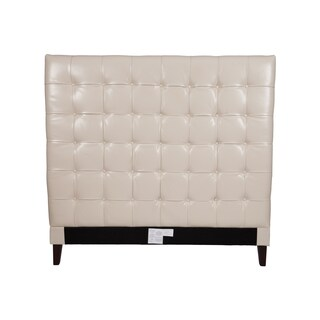 Chic Home Beethoven Cream White Bonded-leather Button-tufted Headboard|https://ak1.ostkcdn.com/images/products/11968251/P18852527.jpg?_ostk_perf_=percv&impolicy=medium