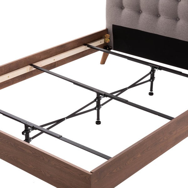 Shop Brookside Black Steel Adjustable Center Support System Bed ...