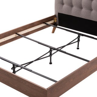 Malouf Bed Frames Black Steel Adjustable Center Support System