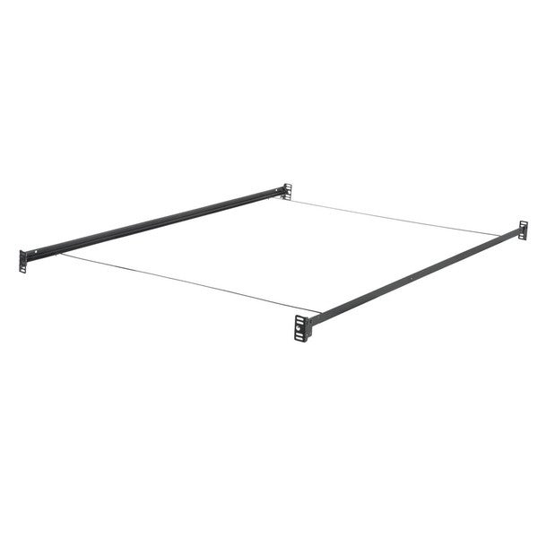 Structures Black Steel Bolt-on Bed Rails With Wire Cross Supports