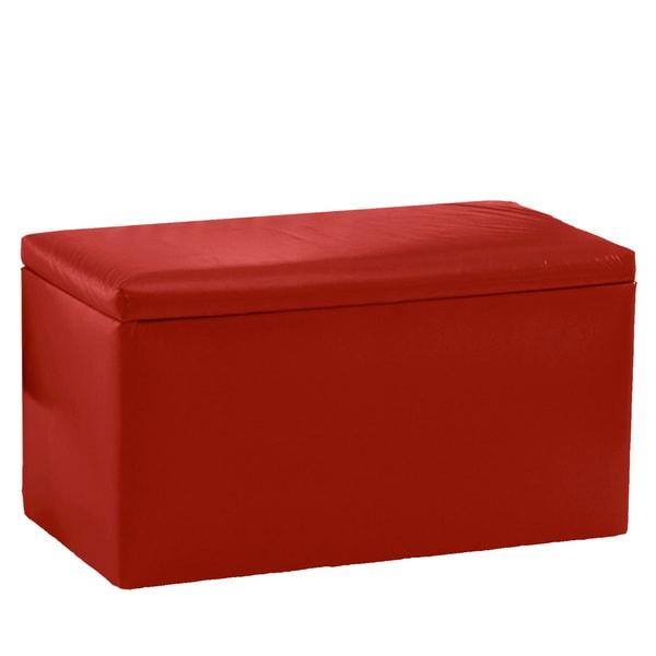 Skyline Furniture Red Storage Bench