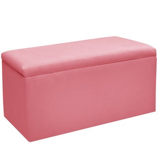 Skyline Furniture Pink Storage Bench