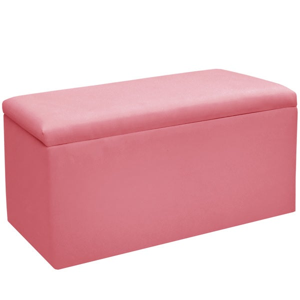 Skyline Furniture Pink Storage Bench Free Shipping Today