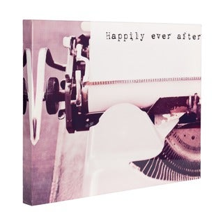 'Happily Ever After' Vintage Canvas Art