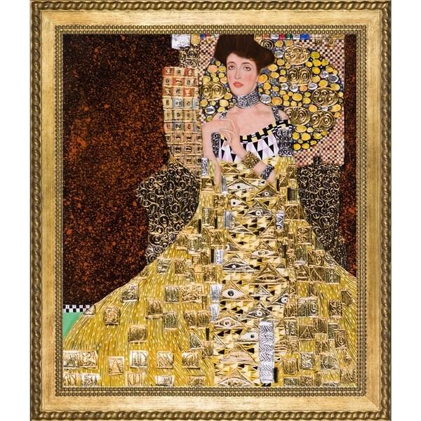 shop klimt 39 portrait of adele bloch bauer i 39 hand painted. Black Bedroom Furniture Sets. Home Design Ideas