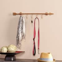The Curated Nomad Lotta Wall Mount Hooked Arrow