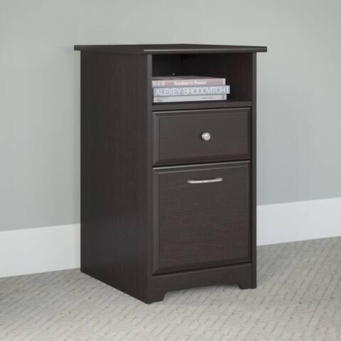 Copper Grove Daintree Espresso Oak 2-drawer File Cabinet