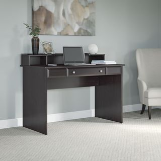 Cabot Collection 48W Writing Desk with Desktop Organizer