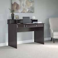 Cabot Espresso Oak Writing Desk with Desktop Organizer