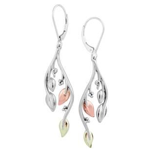 Vinya Silver/Gold Dangle Earrings