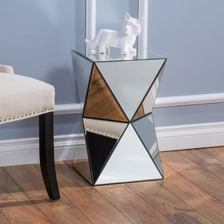 Link to Fairfax Mirrored End Table by Christopher Knight Home Similar Items in Living Room Furniture