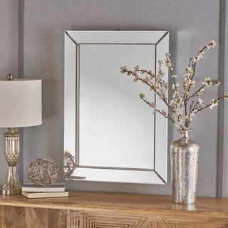 Templin Rectangular Wall Mirror by Christopher Knight Home