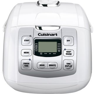 Cuisinart Rice Plus Multi-Cooker with Fuzzy Logic Technology (Refurbished), White