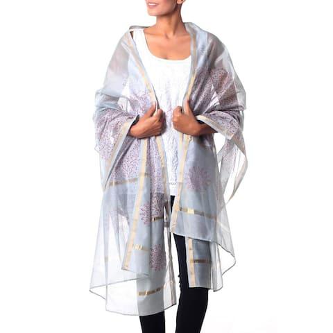Cotton Silk Fortunes Elegance Shawl (India)