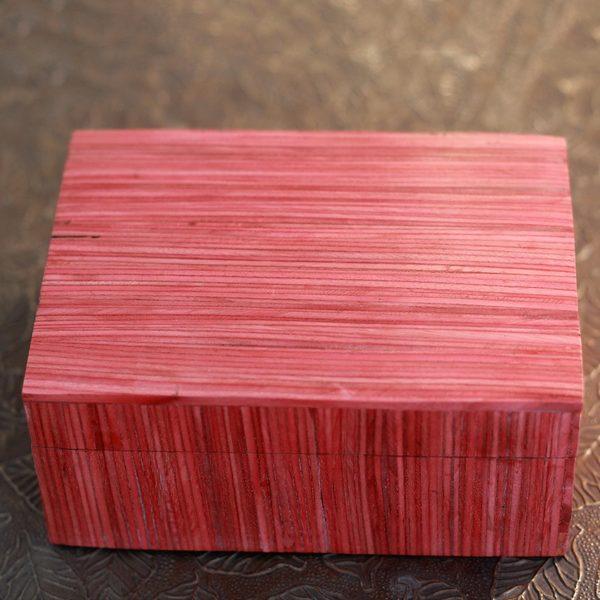 Handmade Indian Elm Wood 'Romantic Delhi' Box (India)