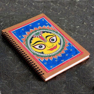 Handmade Paper 'Surya the Sun' Journal (India)