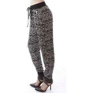 Soho Women Printed Jogger Casual Pants