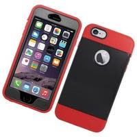 Insten Dual Layer Hybrid Stand Silicone/ Rubberized Hard PC Case Cover For Apple iPhone 6 Plus/ 6s Plus 5.5-inch