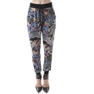 Soho Women Tribal Print/ Paisley Casual Jogger Pants
