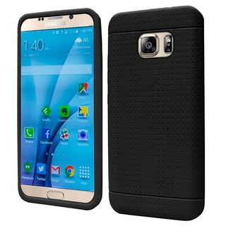 Insten Rugged Silicone Skin Gel Rubber Case Cover For Samsung Galaxy S7