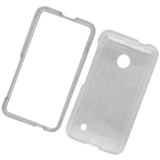 Insten Clear Hard Snap-on Crystal Case Cover For Nokia Lumia 530