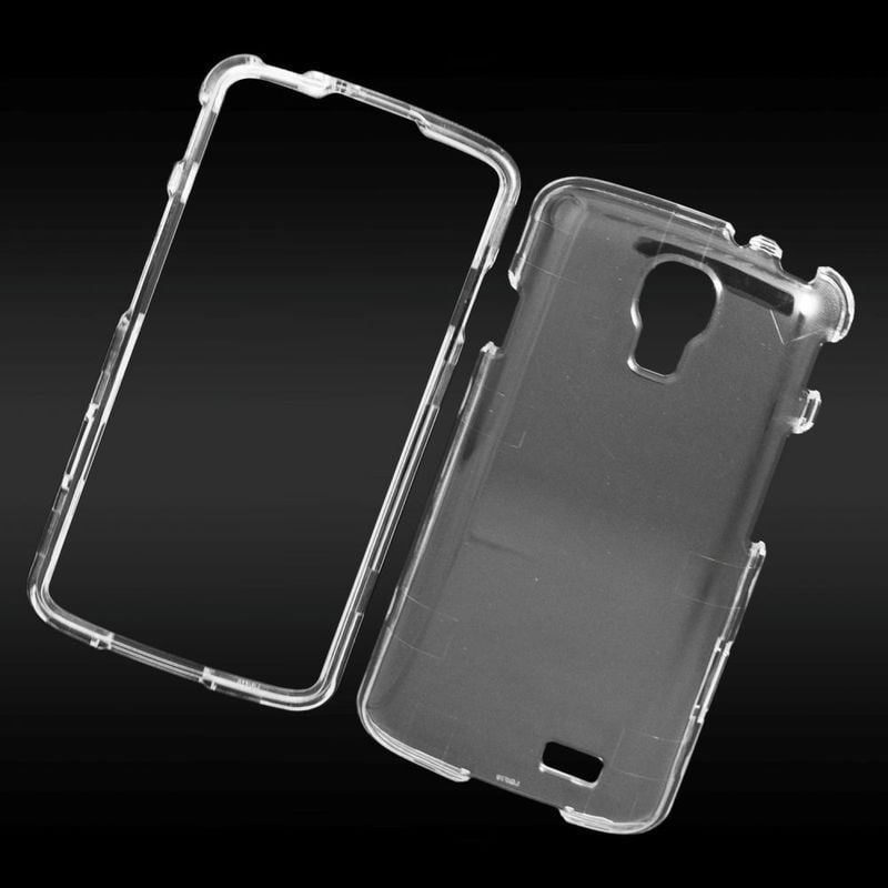 Insten Clear Hard Snap-on Crystal Case Cover For LG F70 D...