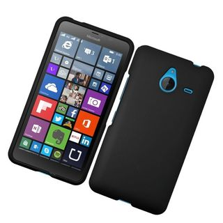 Insten Hard Snap-on Rubberized Matte Case Cover For Microsoft Lumia 640 XL
