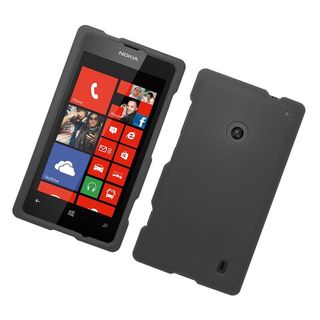 Insten Hard Snap-on Rubberized Matte Case Cover For Nokia Lumia 520