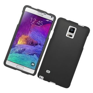 Insten Hard Snap-on Rubberized Matte Case Cover For Samsung Galaxy Note 4