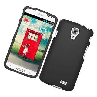 Insten Rubberized Hard Snap-in Case for LG F70 D315