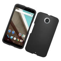 Insten Hard Snap-on Rubberized Matte Case Cover For Motorola Google Nexus 6