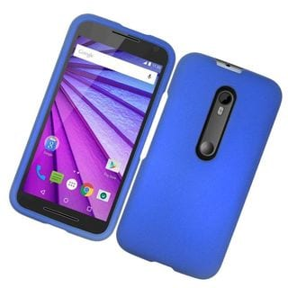 Insten Hard Snap-on Rubberized Matte Case Cover For Motorola Moto G (3rd Gen)