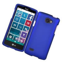 Insten Hard Snap-on Rubberized Matte Case Cover For LG Lancet