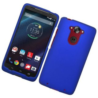 Insten Hard Snap-on Rubberized Matte Case Cover For Motorola Droid Turbo (2 options available)