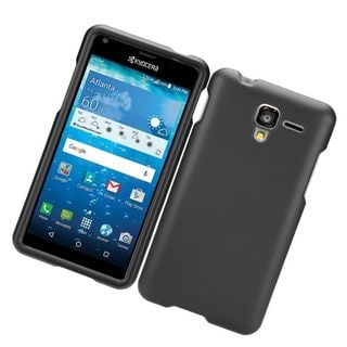 Insten Hard Snap-on Rubberized Matte Case Cover For Kyocera Hydro View