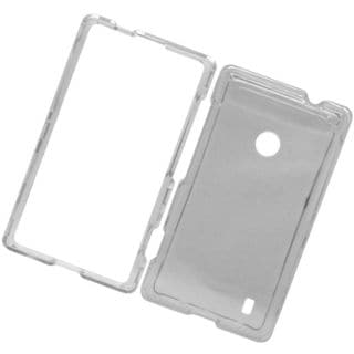 Insten Clear Hard Snap-on Crystal Case Cover For Nokia Lumia 520