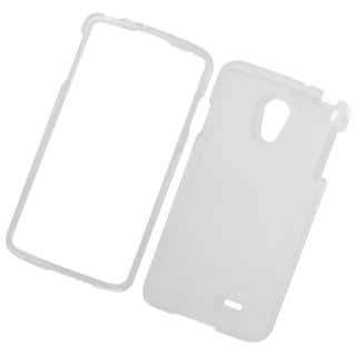 Insten Clear Hard Snap-on Crystal Case Cover For LG Lucid 3