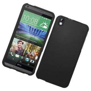 Insten Hard Snap-on Rubberized Matte Case Cover For HTC Desire 816