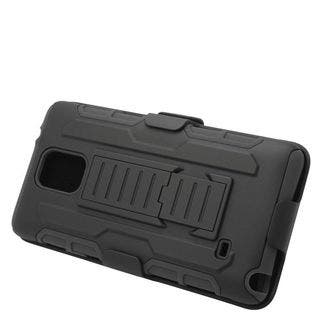Insten Car Armor Hard PC/ Silicone Dual Layer Hybrid Case Cover with Stand/ Holster For Samsung Galaxy Note 4|https://ak1.ostkcdn.com/images/products/11974083/P18856802.jpg?impolicy=medium