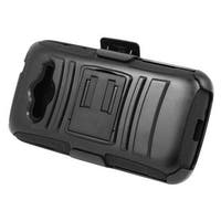 Insten Hard PC/ Silicone Dual Layer Hybrid Case Cover with Stand/ Holster For Samsung Galaxy Avant