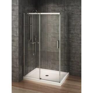 Berlin Glass 48-inch x 32-inch Rectangular Corner Shower Stall