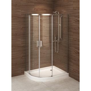 Berlin Glass 48-inch x 32-inch Rectangular Corner Shower Stall ...