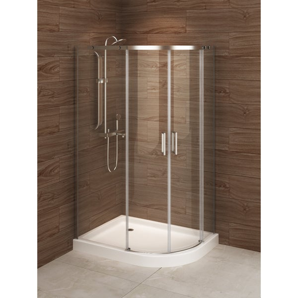 Madrid 48 Inch X 36 Asymmetric Right Opening Corner Shower