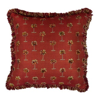 Sherry Kline Tropical Red 24-inch Throw Pillow