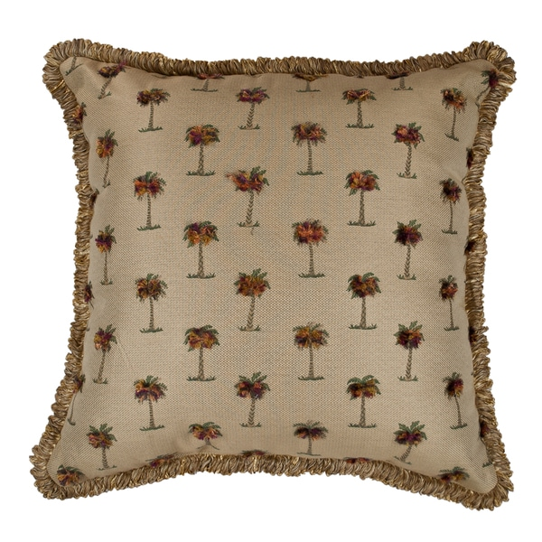 Sherry Kline Tropical Taupe 24-inch Throw Pillow