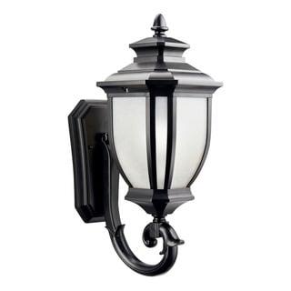 Kichler Lighting Salisbury Collection 1-light Black Outdoor Wall Lantern