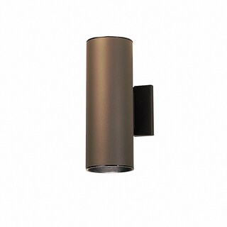 Kichler Lighting Contemporary 2-light Architectural Bronze Outdoor Wall Lantern