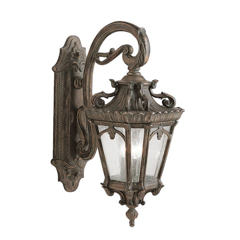 Kichler Lighting Tournai Collection 3-light Londonderry Outdoor Wall Lantern