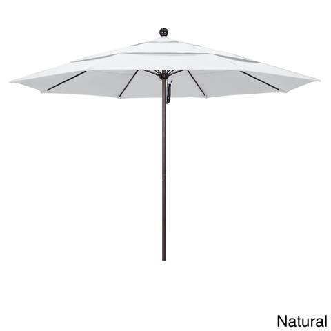 Riviera 11-foot Push Open Aluminum Round Umbrella by Havenside Home